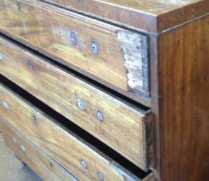 Restored Edwardian Chest of Drawers